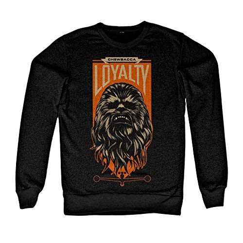Officiellement Marchandises sous Licence Chewbacca Loyalty Sweatshirt (Noir), Large