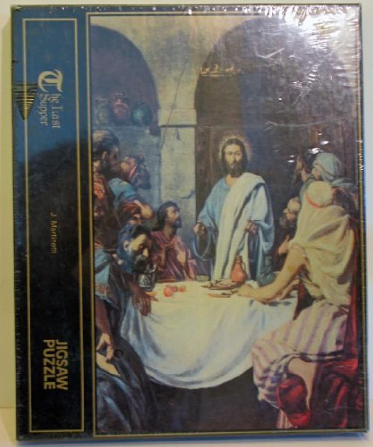 THE LAST SUPPER 500 PIECE JIGSAW PUZLE J. MARTINETTI by J Martinetti Puzzles