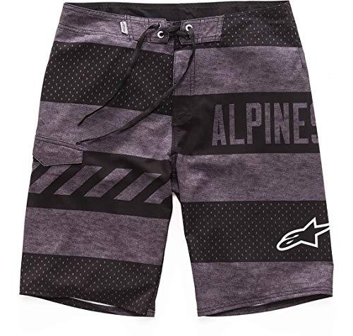 Alpinestars Unisex-Erwachsene Insignia Boardshorts, Unisex Herren, Insignia Boardshorts, 1017-24003-18-29, anthrazit, Size 29