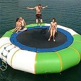 Hochwertige PVC-Material aufblasbare Wasser Trampolin Bounce Splash gepolsterte Prahler für Sport-Sprung Schwimmen