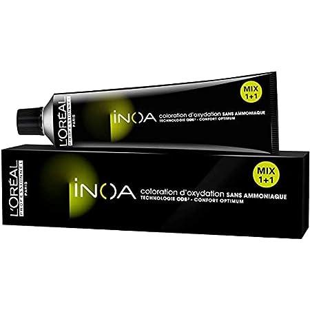 LOreal Inoa Coloracion sin amoniaco, 7,35 (Rubio Dorado Caoba), 60 g