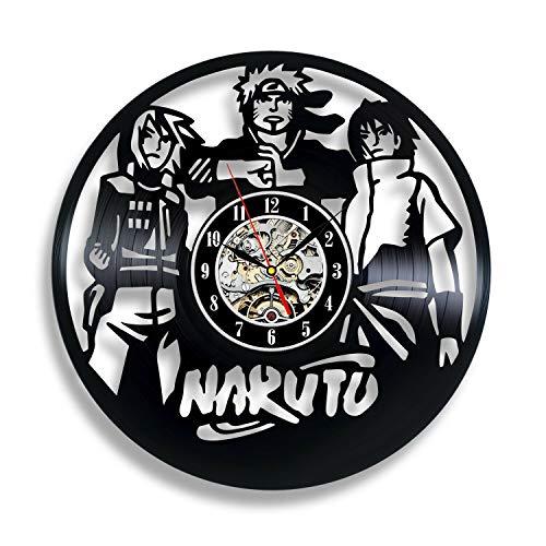 WERWN Anime Naruto Art Deco Regalo de decoración de Dormitorio