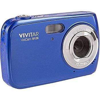 Vivitar ViviCam S126 Digital Camera  Blue