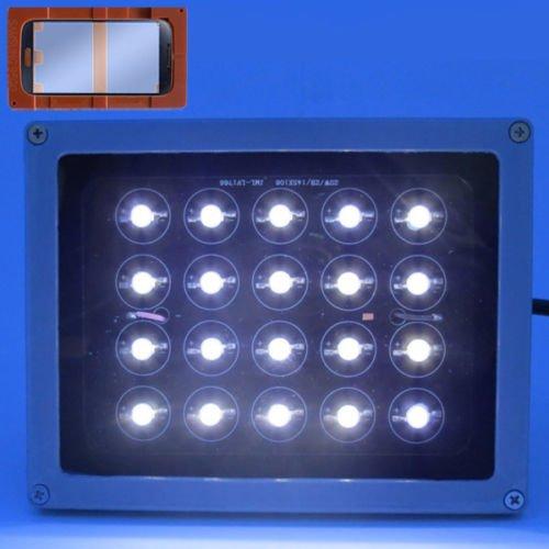 20W LED lámpara de luz UV curado luz con mango pegamento LOCA UV secador para reparar LCD