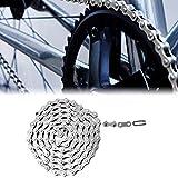 Starbun Cadena Velocidad Cadena- montaña Bicicleta de Carretera Solo 10 Velocidad 114 Enlaces de Accesorios de Bicicletas