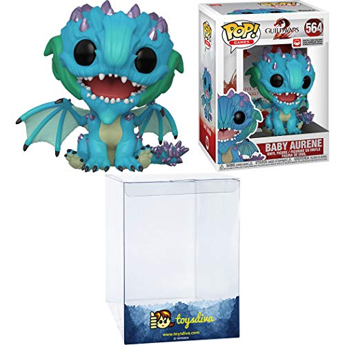 Baby Aurene: Funk o Pop! Games Vinyl Figure Bundle with 1 Compatible 'ToysDiva' Graphic Protector (564 - 41511 - B)