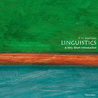 Linguistics: A Very Short Introduction cover art