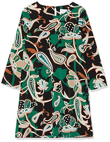 COMPAÑÍA FANTÁSTICA Vestido Paisley Robe, Multicolore (Estampado 000052), 42 Femme
