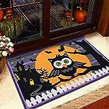 DaPeng Decoraciones De Halloween Felpudos De Halloween, Felpudos con Base Antideslizante para Interiores Y Exteriores para El Hogar