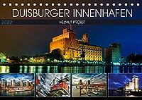 Duisburger Innenhafen (Tischkalender 2022 DIN A5 quer): Eindrucksvolle Fotoserie des Duisburger Innenhafens (Monatskalender, 14 Seiten )