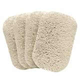S&T INC. BPA-Free Soap Savers for Kitchen and Bathroom, 4 Pack, Cream