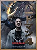 Poster Birdman Movie 70 X 45 cm