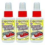 Grandma's Secret Sneaker Cleaner Spray, 3 oz - Pack of 3