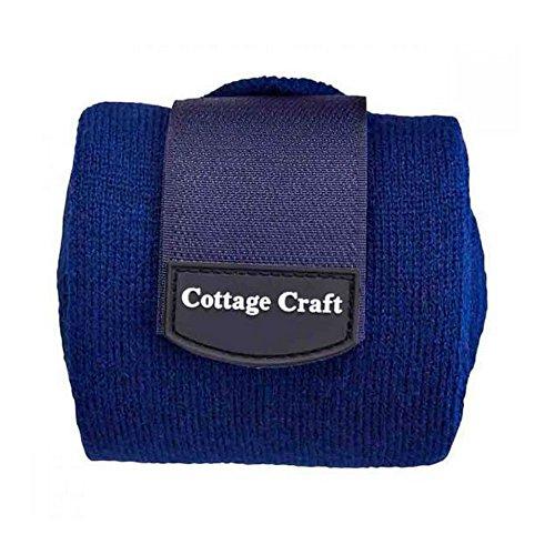 Cottage Craft Stallbandagen, 4er-Pack (Einheitsgröße) (Marineblau)