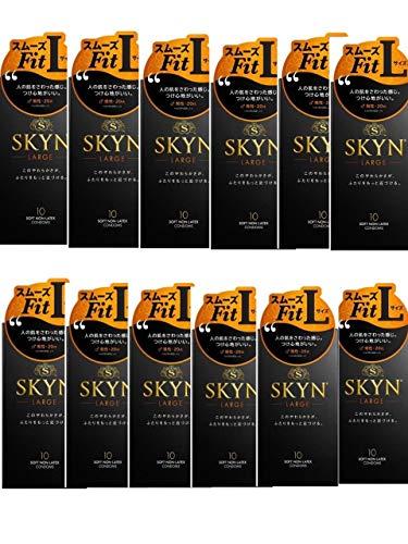 【12個セット】SKYN オリジナル アイアール コンドーム ラージ Lサイズ 10個入