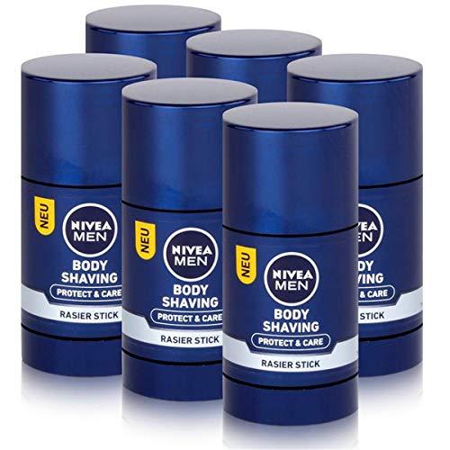 Nivea Body Shaving Rasier Stick 75ml - Protect & Care (6er Pack)