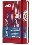 Moleskine - Agenda Semanal de 18 Meses Edición Limitada Star Wars, TIE Star Hunt, Agenda Escolar 2019/2020 con Tapa Dura y Cierre Elástico, Tamaño de Bolsillo 9 x 14 cm, 208 Páginas