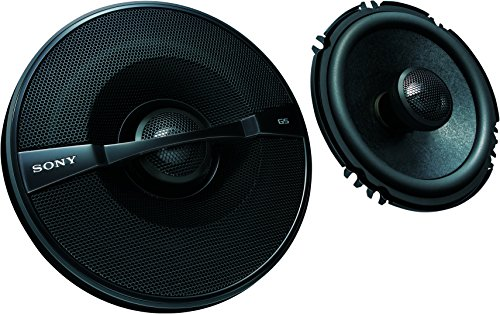 Sony XSGS1621 GS Series 6.5-Inch 2-Way Speakers, Set of 2