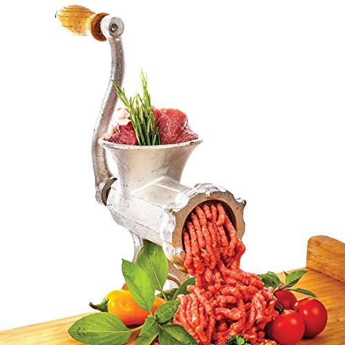 Picadora de carne manual Picadora de carne enlatada manual y embutidora de salchicha Mano de mesa Picadora Vintage