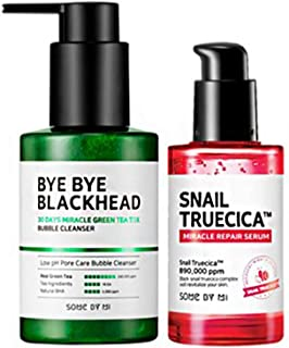some by mi Bye Bye Blackheads + some by mi Snail Truecica Miracle Serum