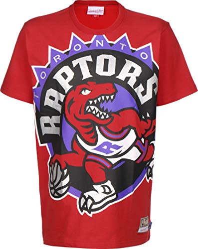 Mitchell & Ness NBA Big Face Tee Toronto Raptors red XL