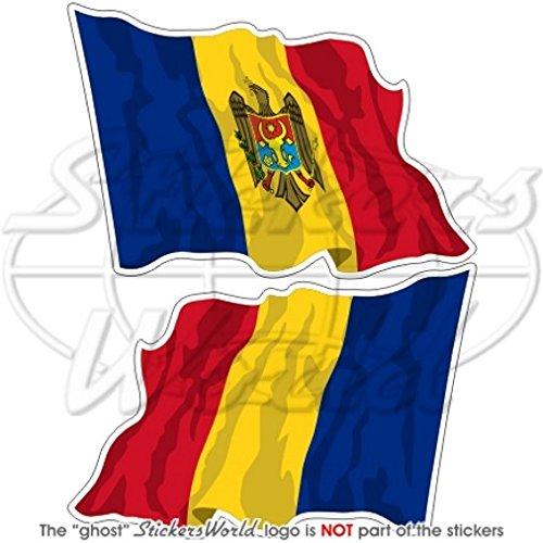 MOLDOVA Moldavië Waving Vlag 4,7