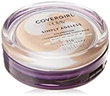 CoverGirl & Olay Simply Ageless Foundation, Classic Ivory [210] 0.40 oz ( Pack of 3)