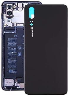 LENASH Tillbaka omslag för Huawei P20 (svart) Bakgrundsbyte (Color : Gold)