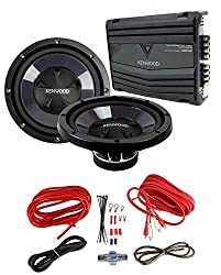 in budget affordable 2) New car subwoofer Kenwood KFC-W112S 12 ″ 1600 W + amplifier KAC-5206400 W + amplifier kit