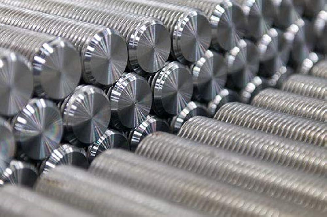 Medium-Strength Threaded Rod, Grade B7 Black-Oxide Steel, 1/2