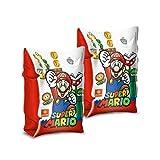 Mondo-16872 Mondo Toys-Super Mario Arm Bands-Braccioli di Sicurezza Materiale PVC-Adatti a Bambini da 2 a 6 Anni con Peso 6-20 kg-16872, Multicolore, 15x21, 16872