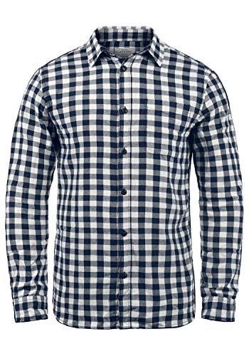 JACK & JONES Zagros - Camisa para Hombre, tamaño:M, Color:Cloud Dancer