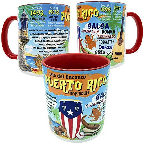 Gio Gifts Puerto Rico Mug Souvenir Gift Mug Tea Cup 11 Oz