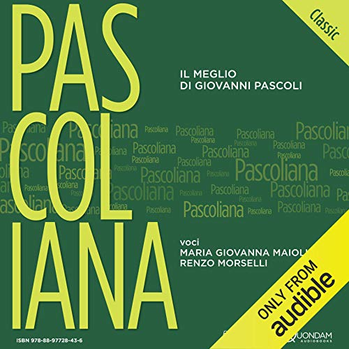 Pascoliana Classic audiobook cover art