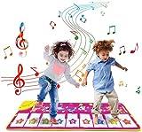XINRUIBO Teclado Musical Piano Mat, música electrónica Play Matchet Dance Mat con 8 Diferente Animal Sound Piano Music Dance Mat para niños pequeños - Mejor música educativa Piano Infantil