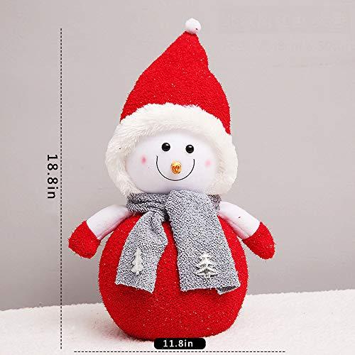 Pretty Lindo Juguete muñeco Nieve Lleno decoración