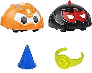 Creacom ジャイロ 指 スピナー フィンガージャイロ スピニングトップ 子供 教育玩具 ミニ カラフル かわいい 装飾 おもちゃなど幅広い用途 贈り物 4個 (B)