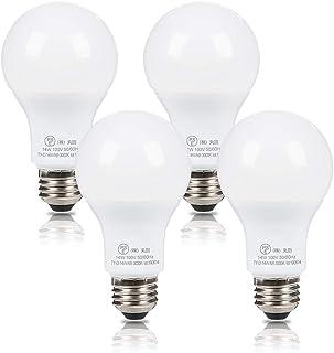 Tengyuan LED電球 E26口金 100W形相当 電球色 14W 1550lm PSE認証 一般電球 E26 A60 広配光タイプ 省エネ 2年保証 4個入り