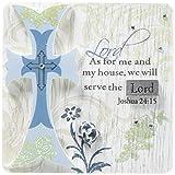 Pavilion Gift Co. Mark My Words Selbststehendes Schild mit Aufschrift Serve The Lord, 7,6 x 7,6 cm