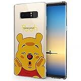ShopInSmart® Transparente Silikon TPU Handy Schutzhülle mit Motiv Cartoon Disney Fröhliche Weihnachten! für Samsung Galaxy Note 8 6.3
