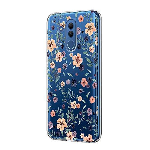 Kompatibel Mit Huawei Mate 20 Lite Hülle Kristall Handyhülle Silikon Weiche Clear Schutzhülle Transparent Flexibel Silikon Case Handy Schutz Hülle für Huawei Mate 20 Lite (8)