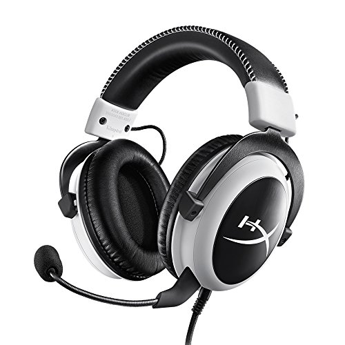 キングストン ヘッドセット HyperX Cloud KHX-H3CLW ホワイト 音量コントロールBox付属 HiFi対...