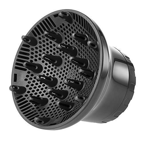 Anself Difusor Secador Universal, Difusor Universal para Secador, Difusor Secador con Interfaz Ajustable Adecuado para Todos Los Secadores de Cabello