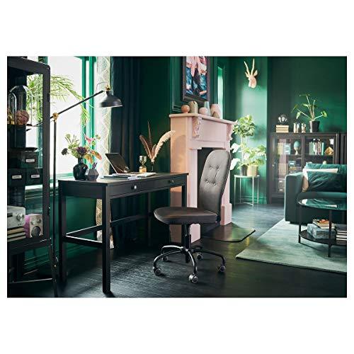 Escritorio IKEA HEMNES con 2 cajones 120x47x75 cm negro-marrón