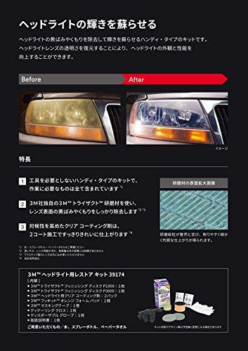 3M『ヘッドライト用レストアキット(39174)』