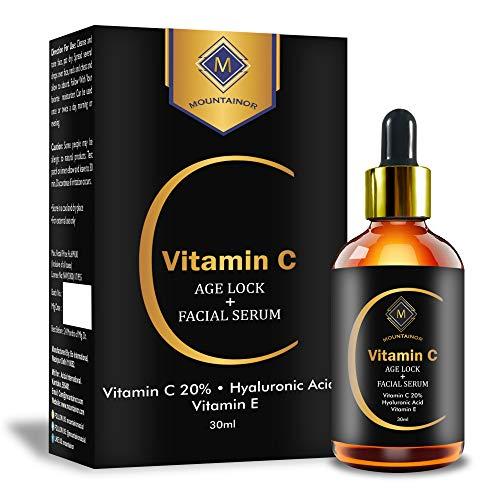 Mountainor Skin Serum with Vitamin C and E, Hyaluronic Acid and Jojoba Oil, 30ml
