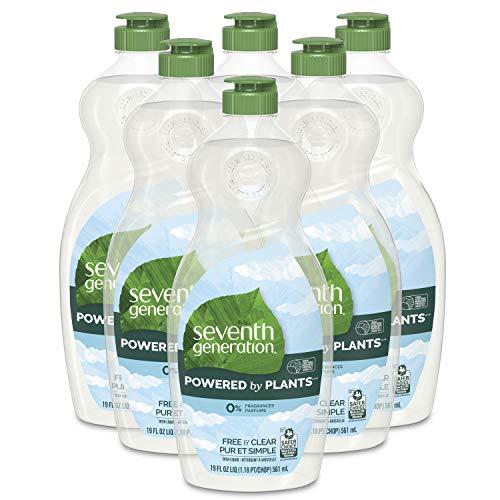 Seventh Generation Dish Soap Liquid Free Clear