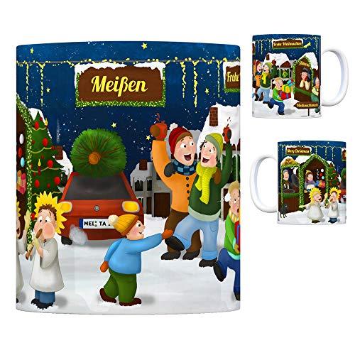 trendaffe - Meißen Sachsen Weihnachtsmarkt Kaffeebecher
