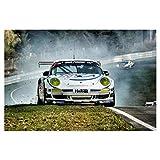 artboxONE Poster 45x30 cm Sport/Motorsport Aufgewirbelt -