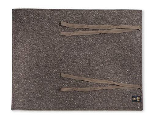 Hubertus Hundelager | Das Original | handgefertigt aus 100% Schafschurwolle | nachhaltiges bequemes Hundebett (Maxi: 80 x 100 cm)